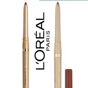 L'Oreal 2 lip liner set Always red & Toffee to be